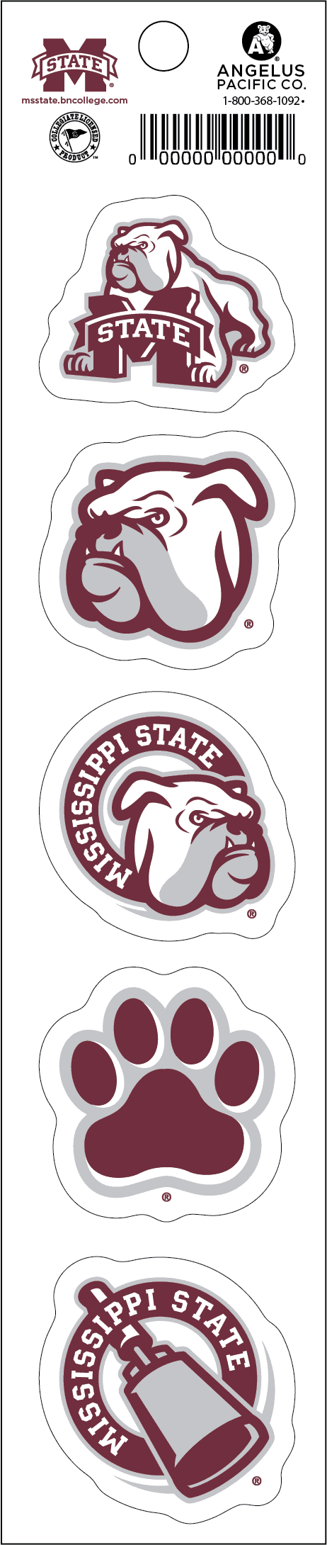Mississippi State Magnet Strip